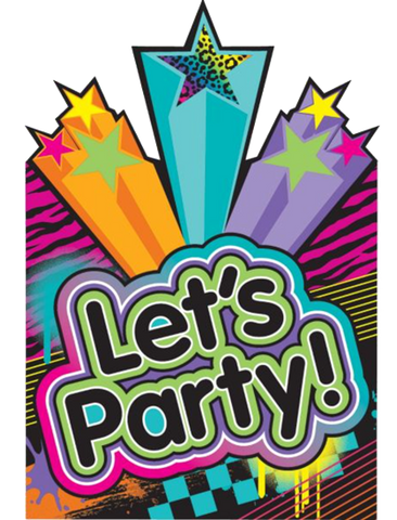 80's Disco Party Invitations