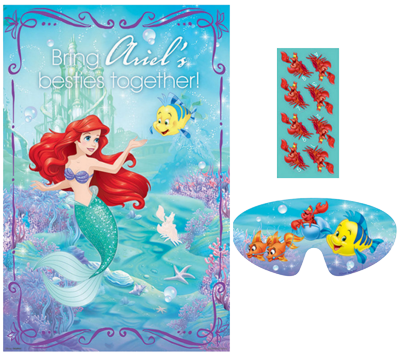 Ariel Mermaid Party Game