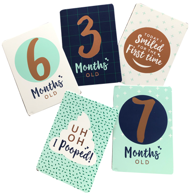 Baby Milestone Cards NZ
