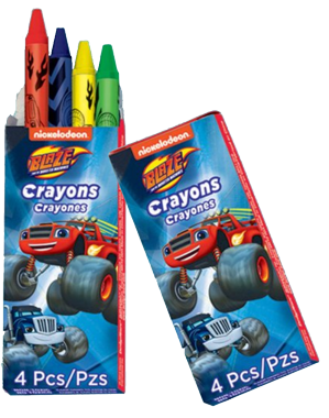 Blaze and the Monster Machines Mini Crayons NZ