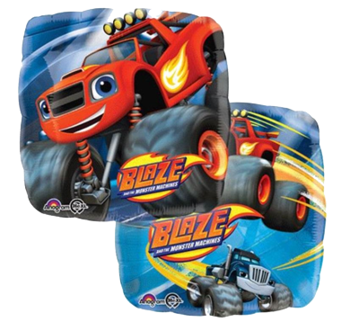 Blaze and the Monster Machines Foil Balloon NZ