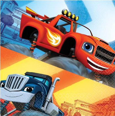 Blaze and the Monster Machines Lunch Napkins NZ