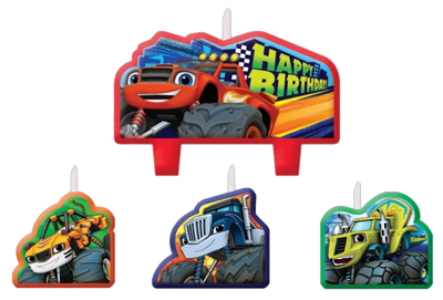Blaze and the Monster Machines Candles NZ