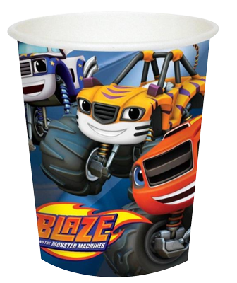 Blaze and the Monster Machines Party Cups NZ