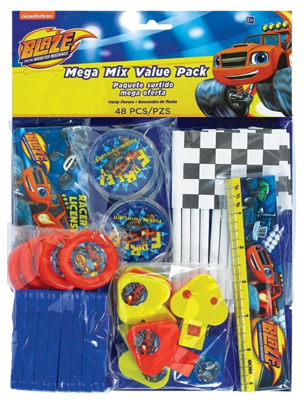 Blaze and the Monster Machines Party Favour Pack NZ