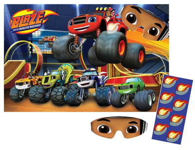Blaze and the Monster Machines Party Game