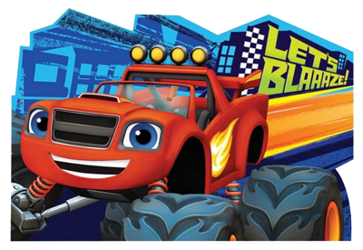 Blaze and the Monster Machines Party Invites NZ