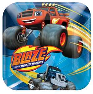 Blaze and the Monster Machines Small Plates NZ