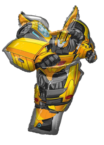 Bumblebee Transformers Supershape Foil Balloon