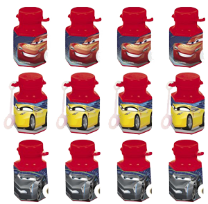 Disney Cars Mini Bubbles pk12