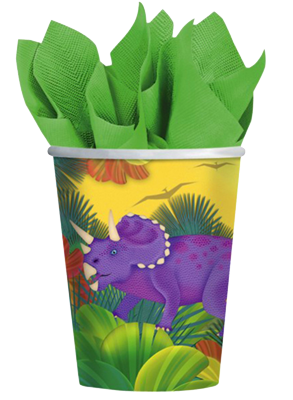 Dinosaur Party Cups NZ