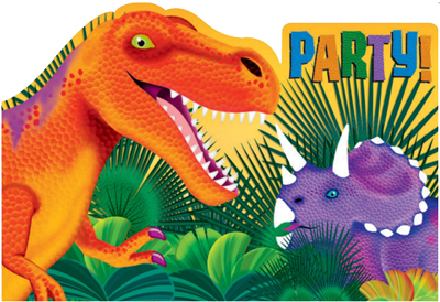 Dinosaur Party Invitations NZ