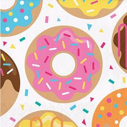 Donut Sprinkle Party Napkins