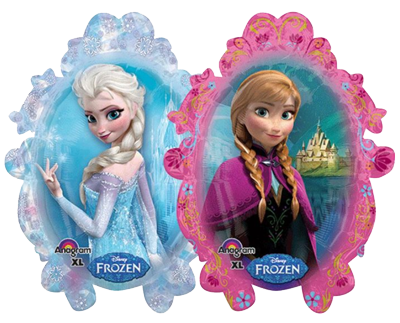 Elsa and Anna Jumbo Foil Balloon