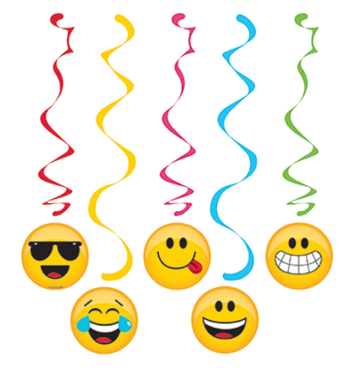 Emoji Hanging Dangler Decorations