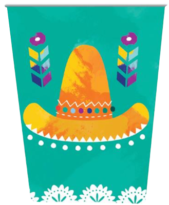 Mexican Fiesta Party Cups