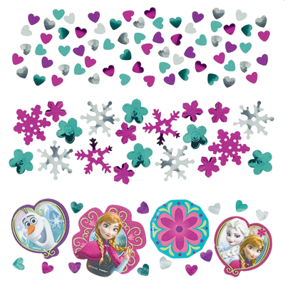 Frozen Party Confetti NZ