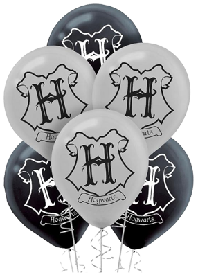 Harry Potter Hogwarts Balloons NZ