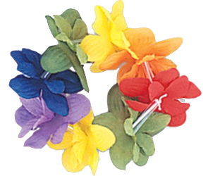 Hawaiian Flower Bracelet
