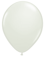 White Opaque Balloon - Single