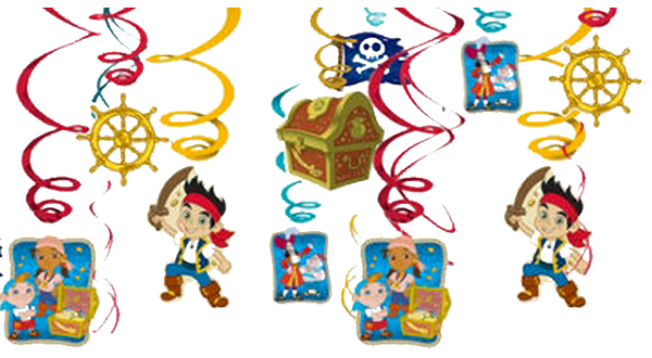 Jake And The Neverland Pirates Swirl Decorations Just Party