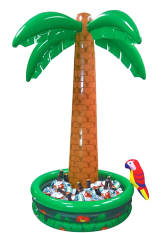 Inflatable Palm Tree Jumbo Cooler