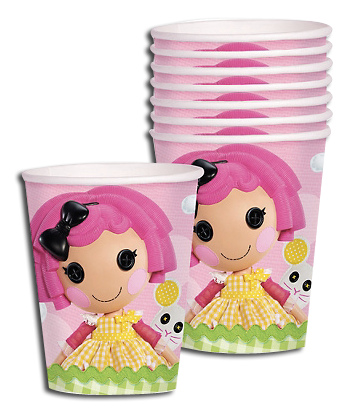 Lalaloopsy Party Cups