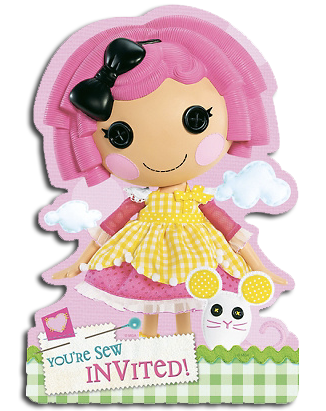 Lalaloopsy Party Invites