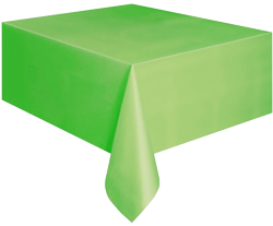 Citrus Green Plastic Table Cloth