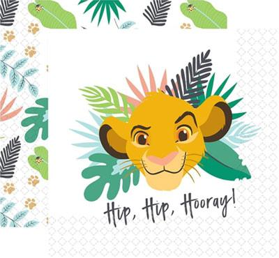 Lion King Party Napkins pk16