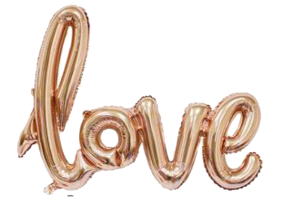 Love Soft Pink Foil Balloon