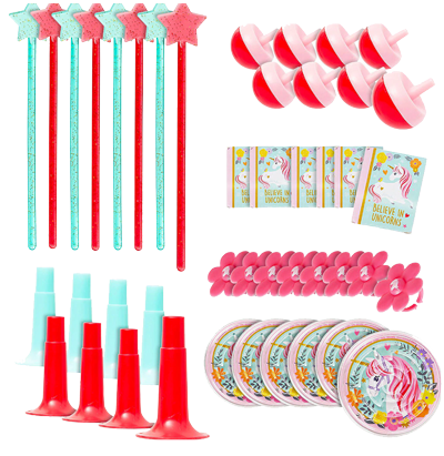 Magical Unicorn Party Favour Pack NZ