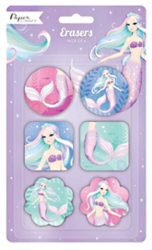 Mermaid Erasers Party Favours NZ