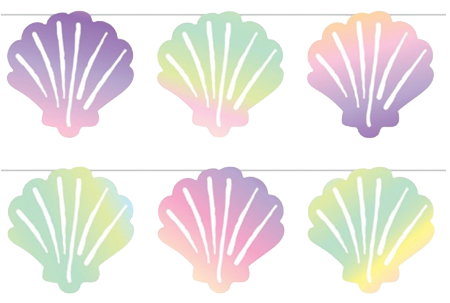 Mermaid Shell Bunting Decoration
