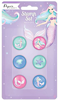 Mermaid Stamps Party Favours NZ