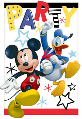 Mickey Mouse Party Invitations NZ