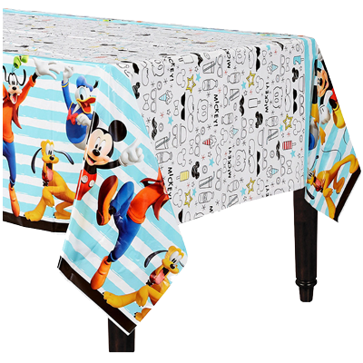Mickey Mouse Plastic Table Cloth