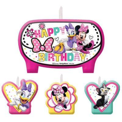 Minnie Mouse Party Candles NZ
