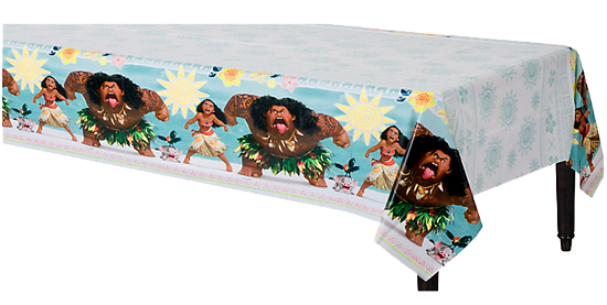 Moana Party Plastic Table Cloth
