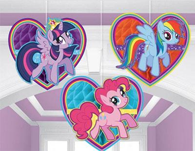 My Little Pony Honeycomb Hanging Decorations