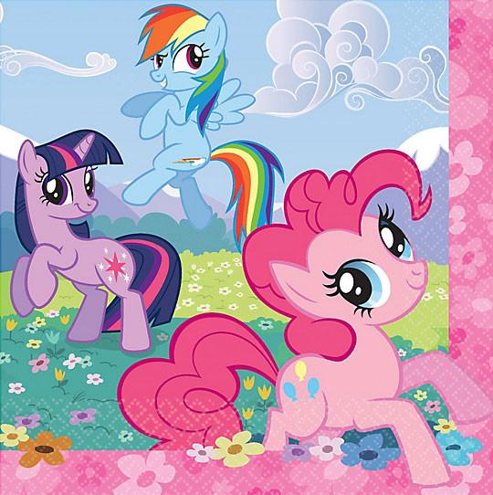 My Little Pony Party Lunch Napkins