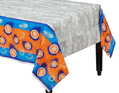 Nerf Party Table Cloth
