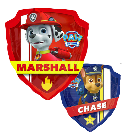 Paw PAtrol Double Sided Foil Balloon NZ
