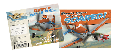 Disney Planes Party Invitations