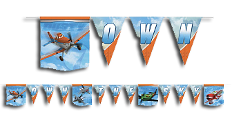 Disney Planes Party Banner