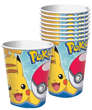 Pikachu Pokemon Cups