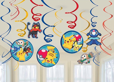 Pokemon Swirl Decorations