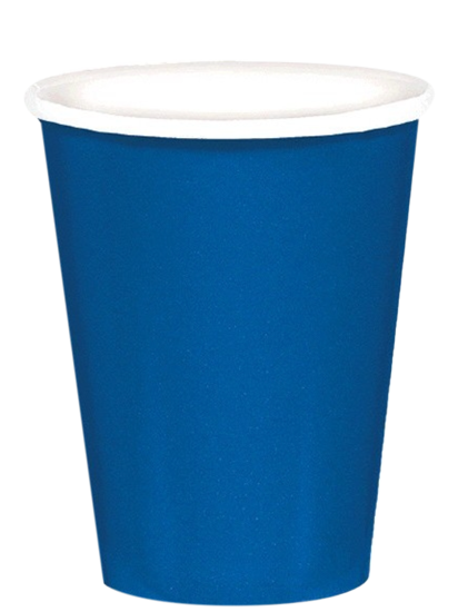 Royal Blue Party Cups 24per pkt