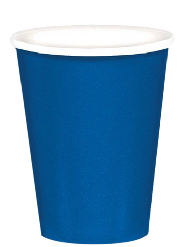 Royal Blue Party Cups 20pk