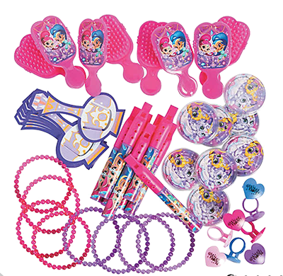 Shimmer and Shine Party Favour Packs NZ